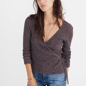 Madewell Ballet Wrap Top S